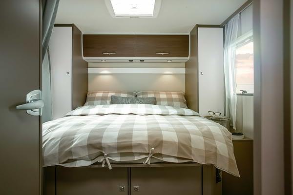 Etrusco T7400 QB Interieur Schlafzimmer/ Schlafbereich