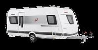 Generation 465 FR Wohnwagen in weiß freigestellt