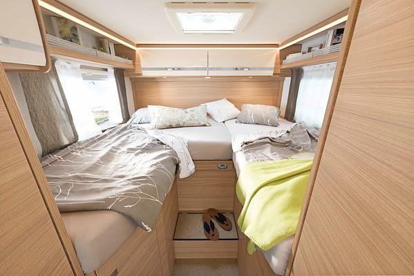 Globebus GT T6 Schlafzimmer