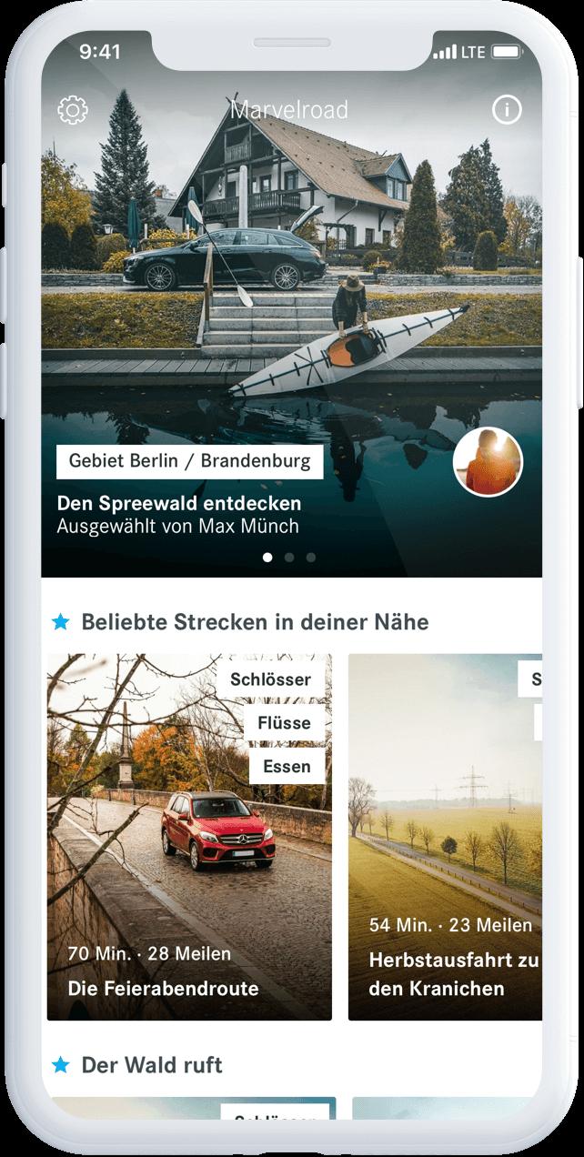 Marvelroad App
