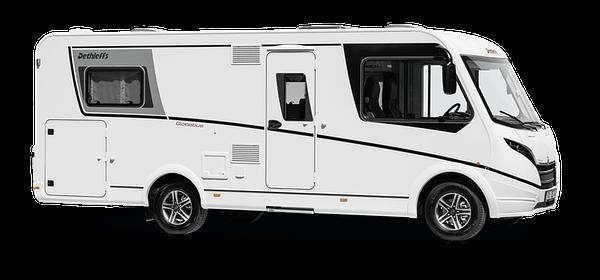 Globebus I7 in Weiß freigestellt