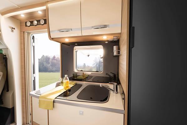 Globebus GT T6 Küche