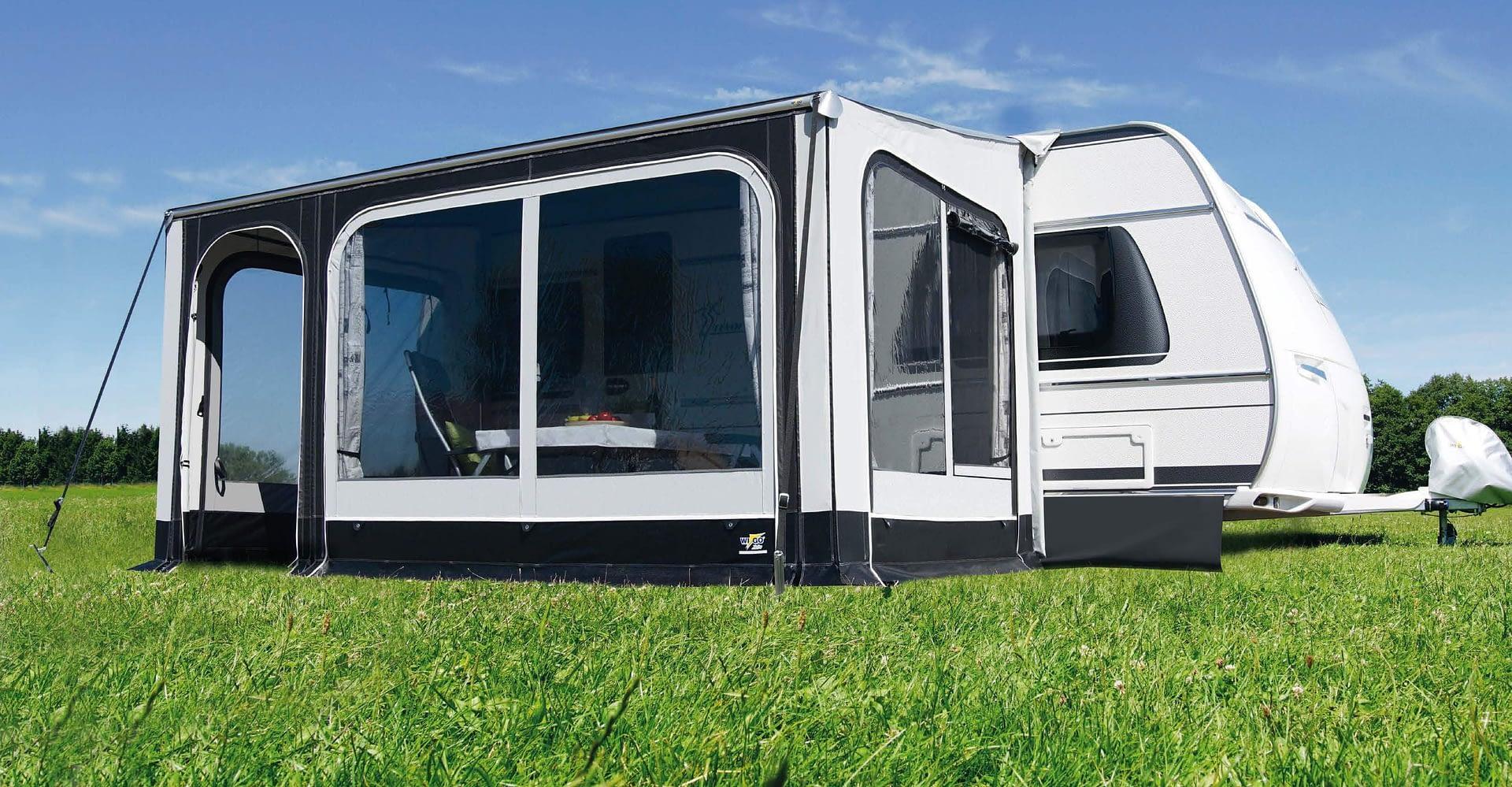 Vorzelt für Wohnwagen und Wohnmobil  Camper Brandt
